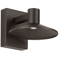 Ash 8 Outdoor Wall Bronze Dome 3000K 90 CRI 3000K Low Output, Surge Protection