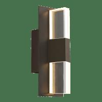 Lyft 12 Outdoor Wall Bronze Clear 2700K 80 CRI In-Line Fuse