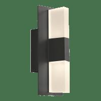 Lyft 12 Outdoor Wall Black Diffuser 2700K 80 CRI In-Line Fuse