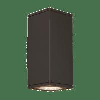 Tegel 12 Outdoor Wall Bronze 4000K 80 CRI, Button Photocontrol, Uplight & Downlight NNC