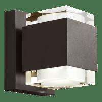 Voto 8 Outdoor Wall Bronze 2700K 80 CRI Uplight & Downlight