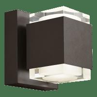 Voto 8 Outdoor Wall Bronze 4000K 80 CRI Uplight & Downlight Surge Protection