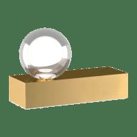 Mina Table Lamp natural Brass 2700K 90 CRI LED 90 cri 2700k 120v