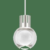 Mina Pendant 1-LITE Clear Satin Nickel White 3000K-2200K 90 CRI LED 120v (t24)