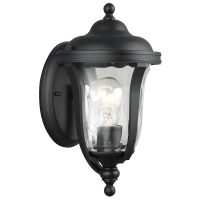 Perrywood Extra Small One Light Outdoor Wall Lantern Black