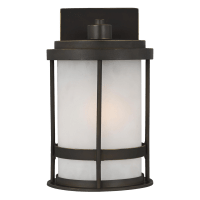 Wilburn Small One Light Outdoor Wall Lantern Antique Bronze