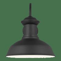 Fredricksburg Large One Light Outdoor Wall Lantern Black