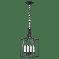 Bantry House Small Lantern Smith Steel