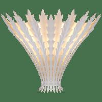 Hampton Wall Light in Plaster White