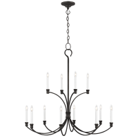 Westerly Large Chandelier Smith Steel