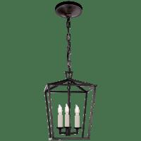 Darlana Mini Lantern in Aged Iron