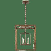 Osborne Lantern in Gilded Iron