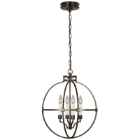 "Lexie 18"" Globe Lantern in Bronze"