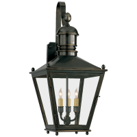 Sussex Medium Bracket Lantern in Bronze