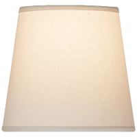 """3"""" x 4"""" x 4"""" Linen Candle Clip Shade"""