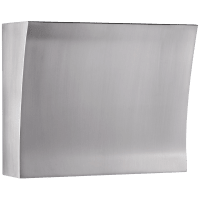 Soho Double Sconce in Brushed Steel