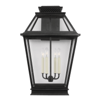 Falmouth Extra Large Outdoor Wall Lantern Dark Weathered Zinc
