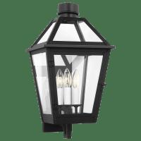 Hyannis Medium Wall Lantern Textured Black