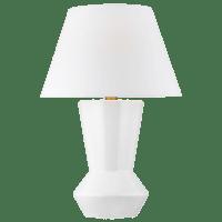 Abaco Table Lamp Arctic White Bulbs Inc