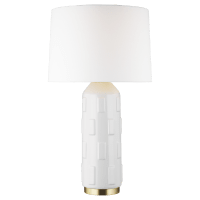 Morada Large Table Lamp Arctic White Bulbs Inc