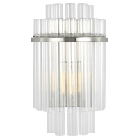 Beckett Sconce Polished Nickel