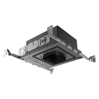 "3"" ELEMENT New Construction Adjustable Square Flangeless Housing LED Warm Dim, 15, High Output"