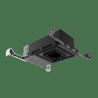"3"" ENTRA New Construction Adjustable Square Housing 90 CRI, LED 3500K, Low Output"