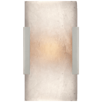 Covet Wide Clip Bath Sconce in Polished Nickel