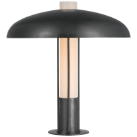 Troye Medium Table Lamp in Bronze with Bronze Shade