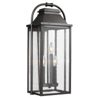 Wellsworth Medium Lantern Antique Bronze