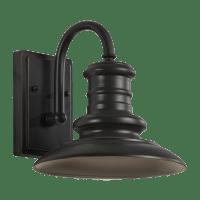 Redding Station Small Lantern Wildlife Friendly Restoration Bronze Bulbs Inc
