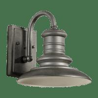 Redding Station Small Lantern Tarnished Silver