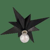 Star Flush Mount in Bronze
