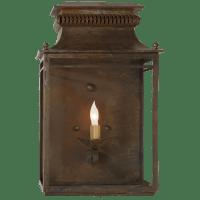 Flea Market Lantern in Antique Zinc