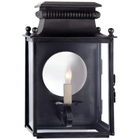 Honore Small 3/4 Sconce in Blackened Copper