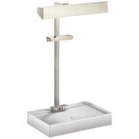 McClean Easel Light in Polished Nickel
