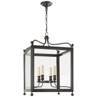 Greggory Medium Lantern in Bronze