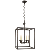 Star Lantern in Aged Iron
