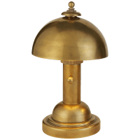 Totie Task Lamp in Hand-Rubbed Antique Brass