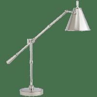 Goodman Table Lamp in Polished Nickel