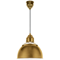 Eugene Small Pendant in Hand-Rubbed Antique Brass