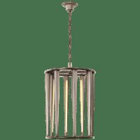 Galahad Medium Lantern in Antique Nickel
