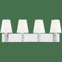 Beckham Classic 4 - Light Vanity Polished Nickel