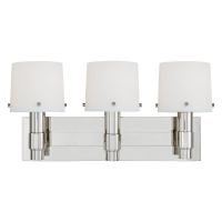 Palma 3 - Light Vanity Polished Nickel