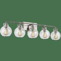 Clara 5 - Light Vanity Satin Nickel