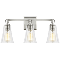 Monterro 3 - Light Vanity Satin Nickel