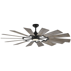 "62"" Prairie Fan -  Aged Pewter"