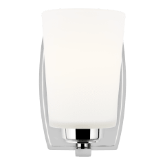 Franport One Light Wall / Bath Sconce Chrome