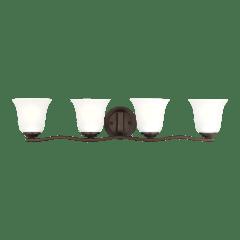 Emmons Four Light Wall / Bath Bronze
