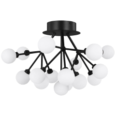 Mara Ceiling matte black 2700K 90 CRI integrated led 90 cri 2700k 120v-277v unv (t24)
